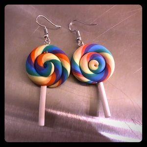 Lollipop Lollipop Earrings 🍭